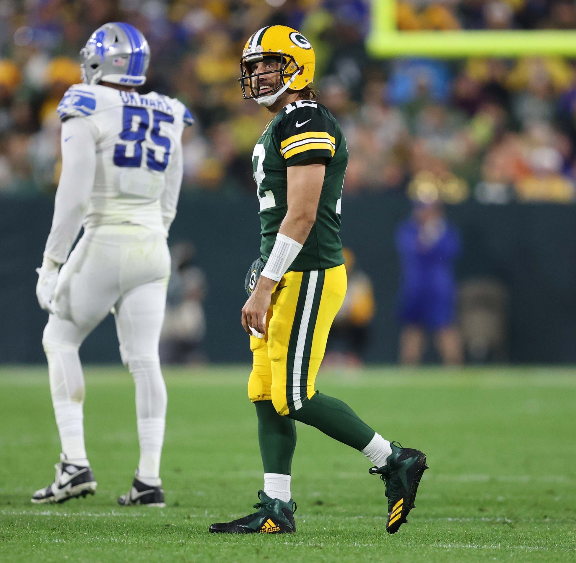 Aaron Rodgers uses 'trolls' as fuel to help Packers beat Lions